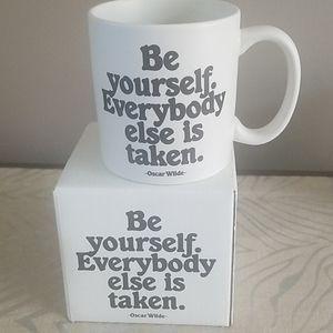 Be Yourself Quotable Mug NIB